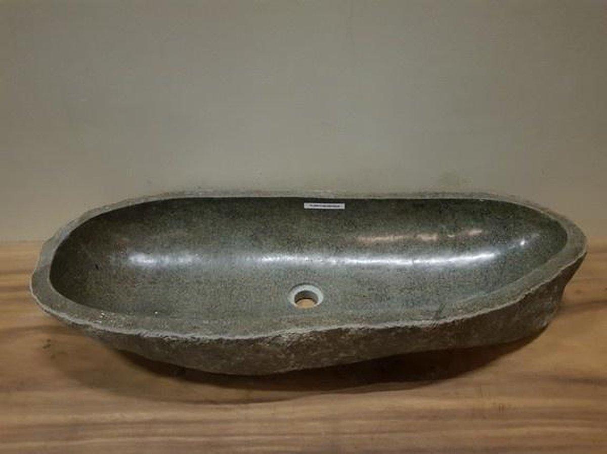 Wasbak natuursteen FL20615 - 96x38x16cm