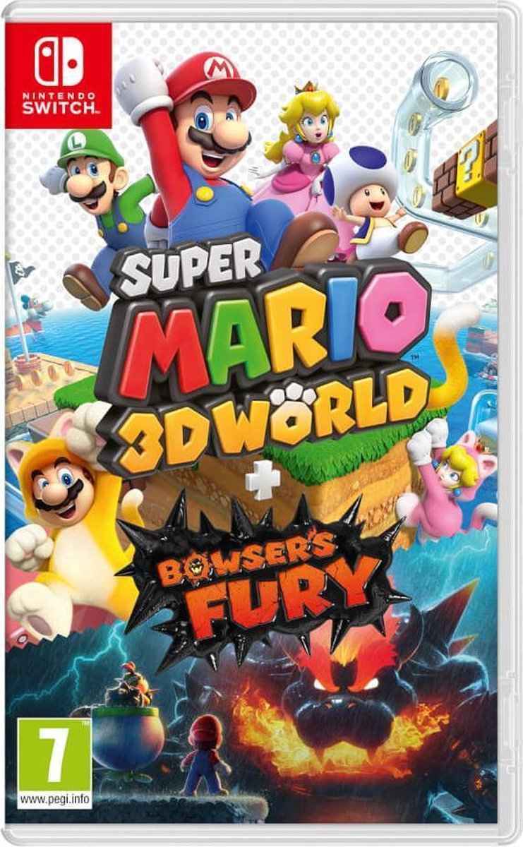 Super Mario 3D World + Bowser's Fury - Switch - Nintendo