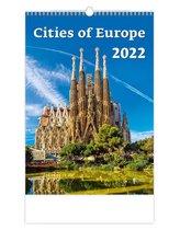 Steden in Europa Kalender 2022