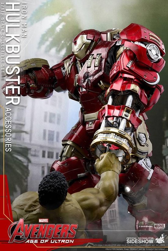 Marvel: Avengers Age of Ultron - Hulkbuster 1:6 Scale Accessories Set