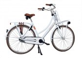 Aynak Muze - transportfiets – damesfiets - 3 versnelling – 28 inch -– maat 53 & 55 – wit - aluminium frame