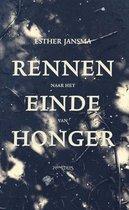 Boek cover Rennen naar het einde van honger van Esther Jansma
