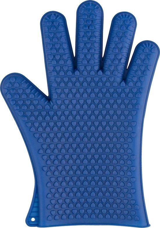 Wenko Ovenwant 19 X 27 X 1 Cm Siliconen Blauw