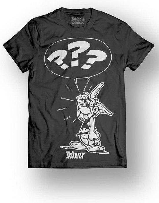 ASTERIX & OBELIX - T-Shirt - What ??? - Black (L)