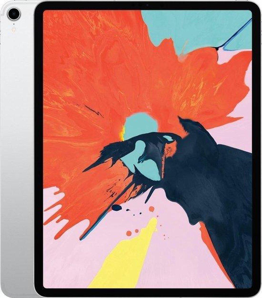 iPad Pro 12.9 Inch (2018) 64GB Silver Wifi + 4G | Zo goed als nieuw
