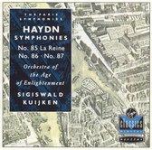 Haydn: Symphonies Nos. 85-87