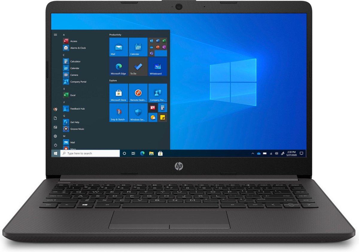 """HP 240 G8 DDR4-SDRAM Notebook 35,6 cm (14"""") 1920 x 1080 Pixels Intel® 10de generatie Core™ i5 8 GB 256 GB SSD Wi-Fi 6 (802.11ax) Windows 10 Pro Zwart"""