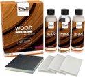 Natural Wood Sealer - Wood Care Kit   Natuurlijke hout beschermer en onderhoud set