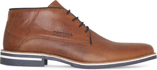 Gaastra - Heren Nette schoenen Murray Mid CHP Cognac - Bruin - Maat 40