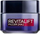 L'Oréal Paris Revitalift Filler Nachtcrème - 50 ml - Anti Rimpel