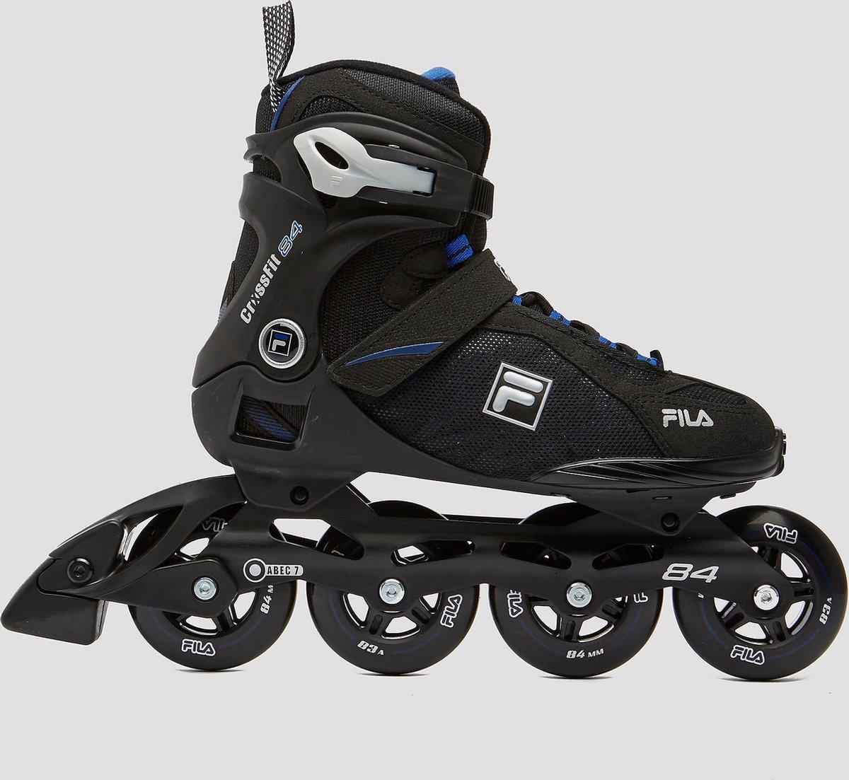 Fila Crossfit 84 Inline Skates/Skeelers Zwart/Blauw Volwassenen