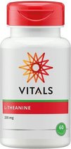 Vitals L-theanine Sportvoeding - 60 capsules