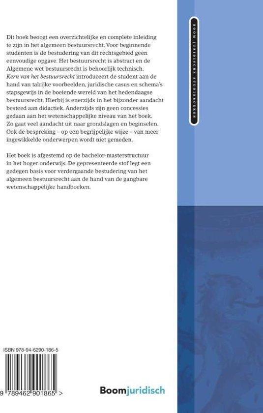 Boom Juridische studieboeken  -   Kern van het bestuursrecht - Raymond Schlössels