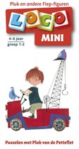 Boek cover Loco Mini / Puzzelen met Pluk van de Petteflet van Uitgevers Noordhoff