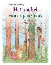 Boek cover Het raadsel van de paashaas van Jennine Staring (Hardcover)