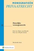 Monografieen Privaatrecht 12 -   Huwelijksvermogensrecht