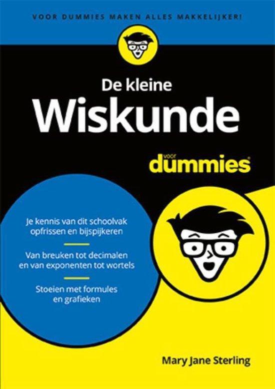 Voor Dummies  -   De kleine wiskunde voor Dummies