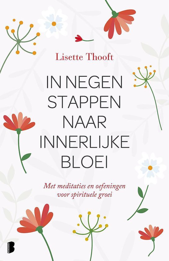 Boek cover In negen stappen naar innerlijke bloei van Lisette Thooft (Hardcover)