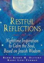 Boek cover Restful Reflections van Rabbi Kerry M. Olitzky