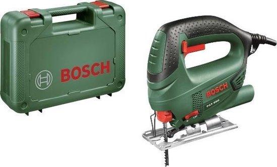 Bosch PST 650 Decoupeerzaag - 500W - met kunststof koffer en 1 decoupeerzaagblad voor hout