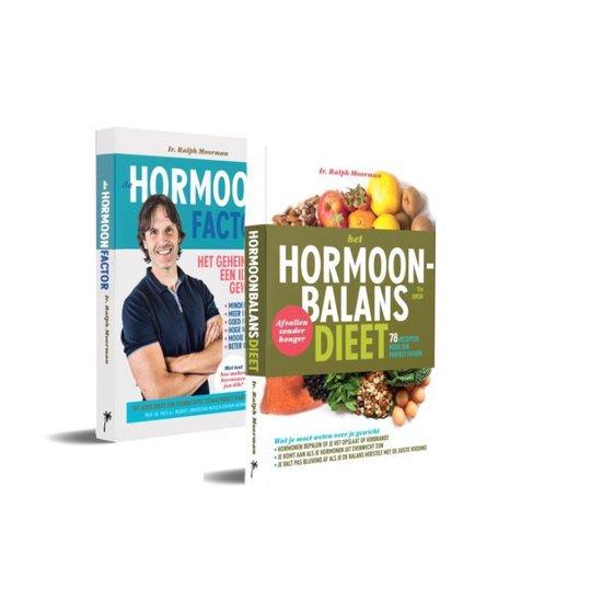 Boek cover Pakket De hormoonfactor & Het hormoonbalansdieet van Ralph Moorman (Paperback)