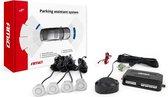 Parkeerhulp / parkeersensoren met geluid (4 zilveren sensoren)