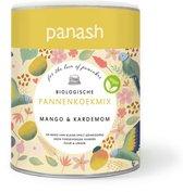 Panash Mango & Kardemom pannenkoekmix - biologisch & vegan - geen e-nummers - 400 gram pannenkoekmix