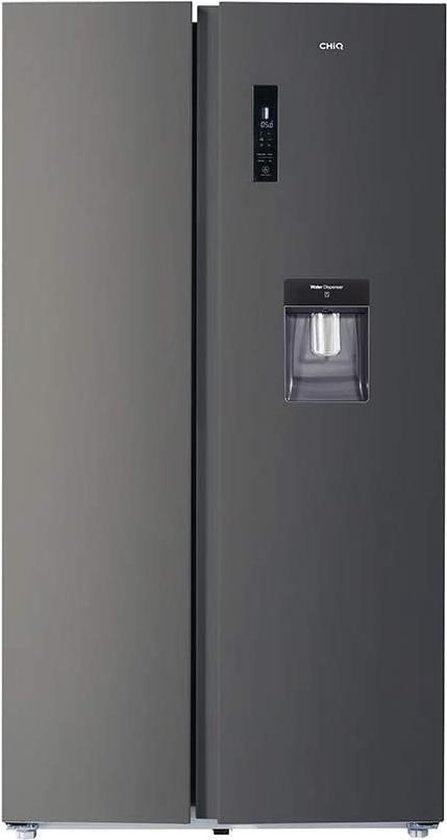 Koelkast: CHiQ FSS559NEI42D - Amerikaanse koelkast - 559L (203 + 356) - no frost, van het merk chiq