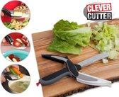 Clever Cutter Keukenschaar Keukenhulp Keukenmes - Keukengerei - 2-in-1 keukenhulp
