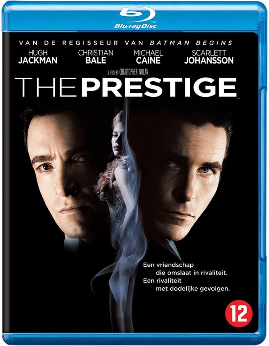Cover van de film 'The Prestige'