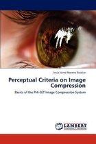 Perceptual Criteria on Image Compression