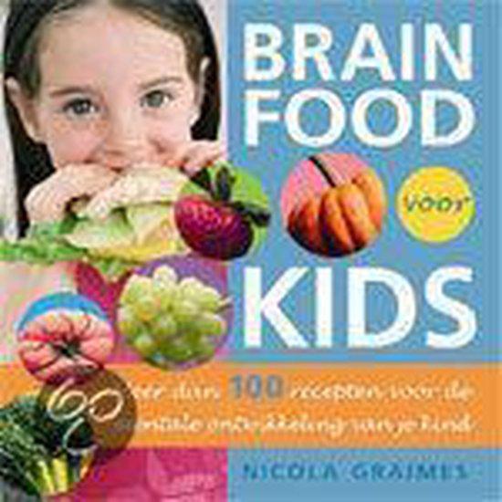 Boek cover Brain Food Voor Kids van Nicola Graimes (Paperback)
