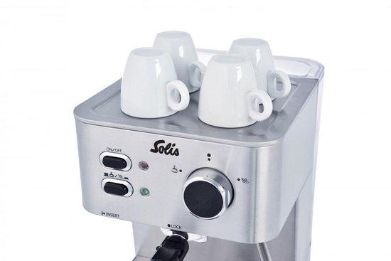 Solis Primaroma 1010 - Pistonmachine - RVS