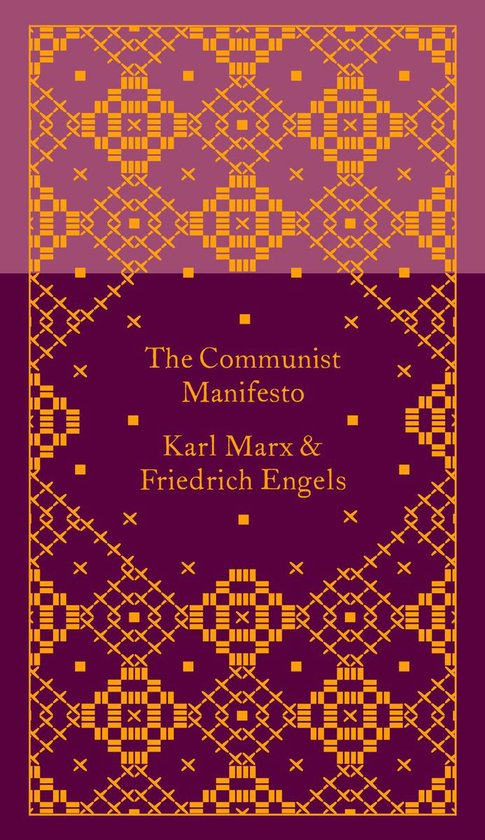 Boek cover The Communist Manifesto van Friedrich Engels (Hardcover)
