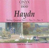 Haydn: String Quartets Nos. 1, 3 & 5