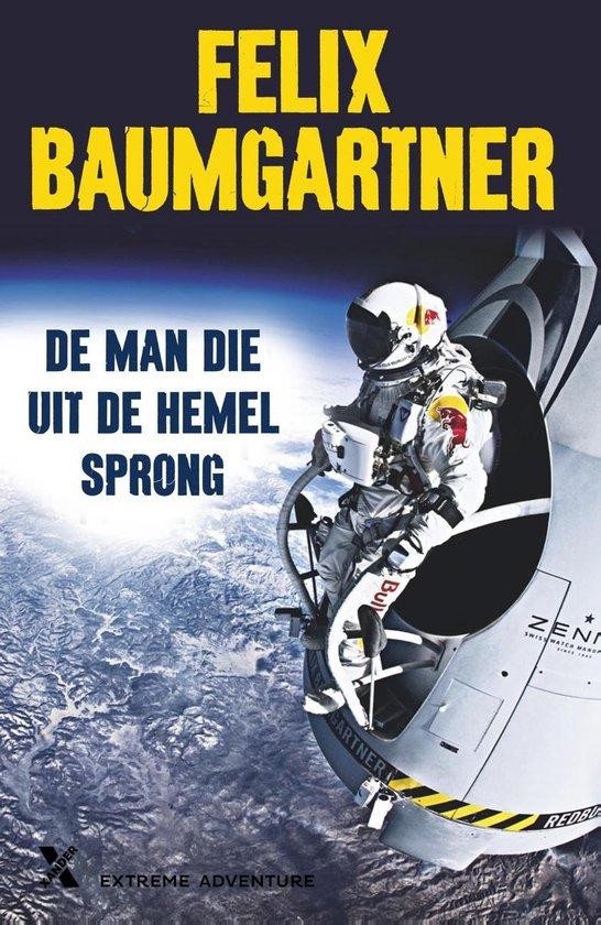 Cover van het boek 'De man die uit de hemel sprong' van Felix Baumgartner