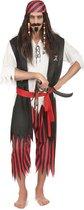 Piraten bandiet kostuum voor mannen - Volwassenen kostuums
