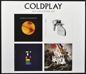 Afbeelding van Coldplay: 4CD Catalogue Set