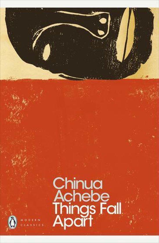 Boek cover Things Fall Apart van Chinua Achebe (Onbekend)