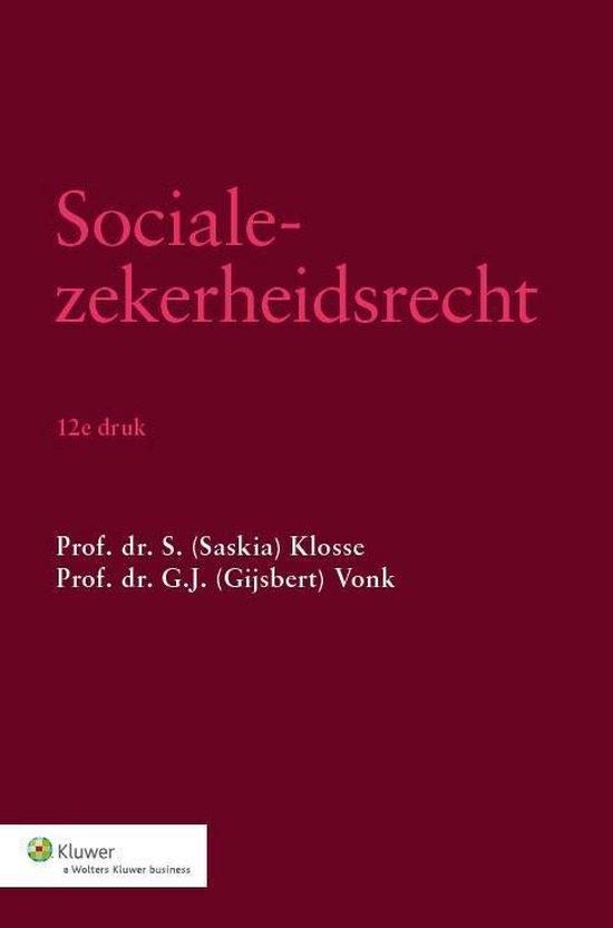 Socialezekerheidsrecht - Saskia Klosse |