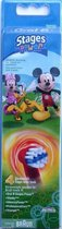Oral-B Stages Power Mickey Mouse Opzetborstels 4pcs