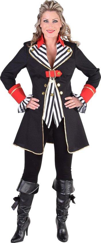 Dames mantel piraat Carnaval kleding vrouwen maat M ( 38 40 )