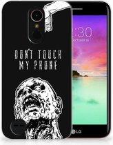 LG K10 2017 Uniek TPU Hoesje Zombie