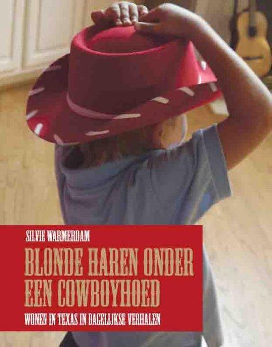 Blonde Haren Onder Een Cowboyhoed