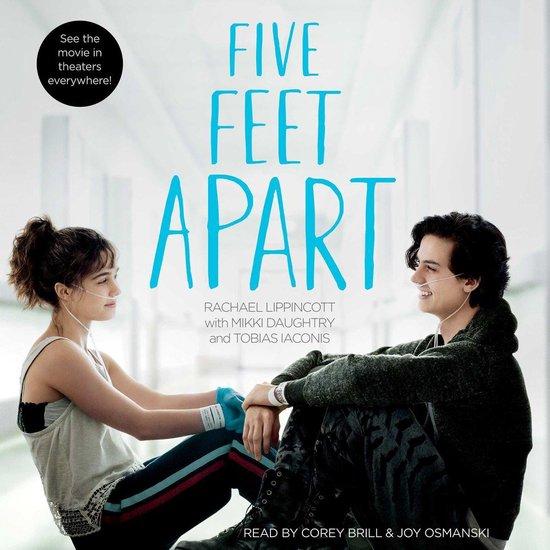 Boek cover Five Feet Apart van Rachael Lippincott (Onbekend)
