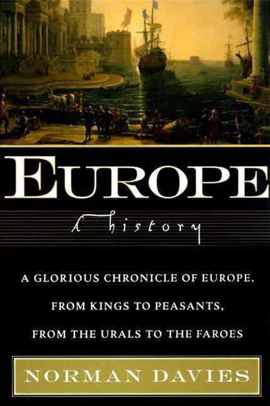 Boek cover Europe van Norman Davies