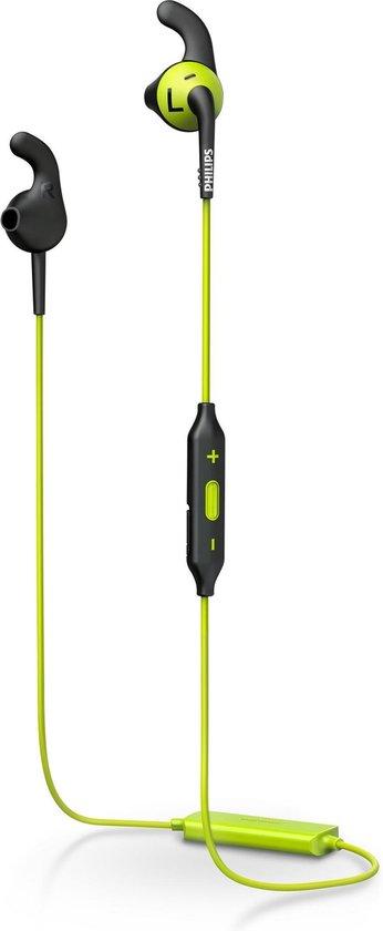 Afbeelding van Philips SHQ6500 - Bluetooth sportoordopjes - Groen