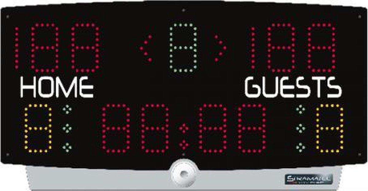 Taktisport Scorebord Multi Sport - Scorebord - Draagbaar - 35m zichtbaarheid