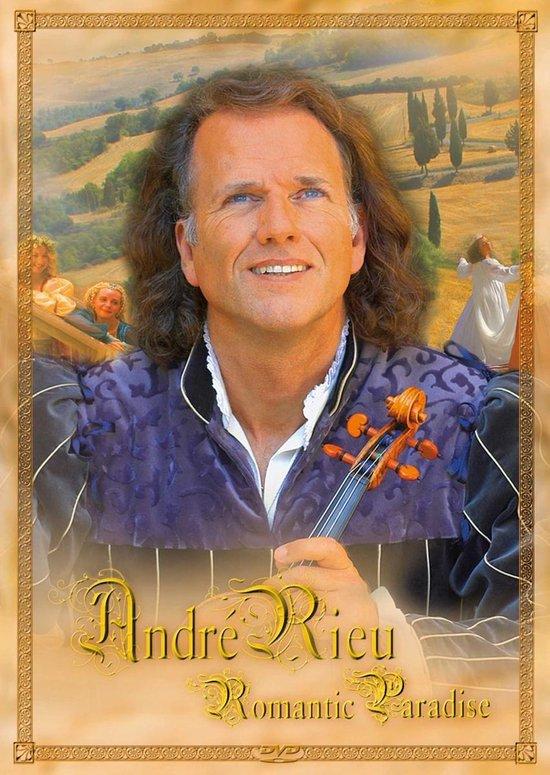 CD cover van Romantic Paradise van André Rieu