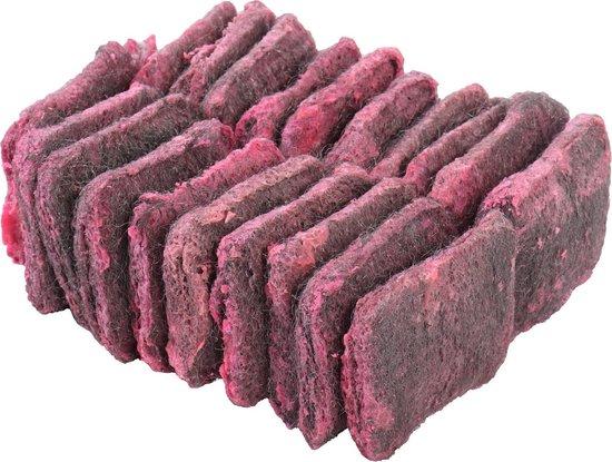 20x stuks zeepwolsponzen / zeepsponzen voor verwijdering van hardnekkig vuil